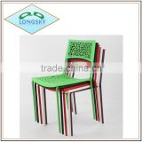 beautiful fashion cheap new style high quality cheap outdoor plastic bright colored chair