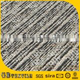 anti skiding 4mm thickness woven pvc flooring tiles in stock