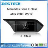 Zestech Touch Screen Car Dvd Player for Mercedes Benz E class after 2009 W212 dvd gps with Radio Bluetooth TV Multimedia Navigation System autoparts