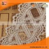 Lace factory wholesale cotton fabrics of silk water soluble lace full of hollow out Wholesale water soluble lace