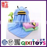 Top quality customized super soft baby hooded towel