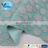 Knitted Fabric One-Stop Manufacture Factory Rayon Polyester Burnout scuba textiles fabric