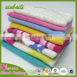 small size towels for babies cotton and polyester hand towels soft children towels 20*20cm 25g