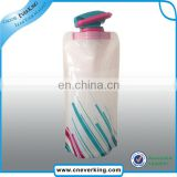 Promotional Custom Foldable Water Bag Plastic Drinking bottle