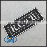 Promotion items embossing metal badges for appliances