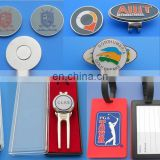 Multiple personalized golf souvenirs----ball marker&hat clip&ball divot