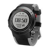 Makibes DM18 Smartwatch Continuous Heart Rate Monitor IP68 Water Resistant LED Screen GPS Multi-Sport Mode