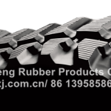 Crawler rubber track belt for excavator engineering machinery