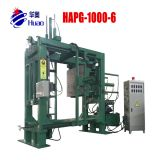 epoxy resin bushing insulator embedded pole transformer APG clamping machine