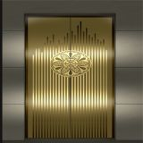 stainless steel elevator decoration