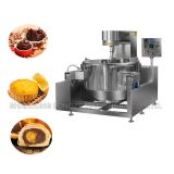 Industry electromagnetic barbecue sauce cooker mixer machine