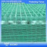 Pvc Coated Cheap Electro Galvanized Welded Wire Mesh Building Fence Clear Plastic Fence