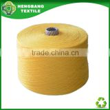 2015 new recycled blended open end cotton melange yarn stocklot from china factory HB989