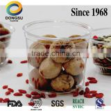 Factory directly clear plastic cup for food packaging with high quality.and competitive price, made in China