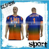 Custom blue American football jersey wholesale price                                                                                                         Supplier's Choice
