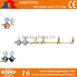 3 Gas valve manifold, Gas Cylinder Manifold, Cutting Machine