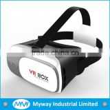 2016 Alibaba Cheap 3D vr headset virtual reality glasses OEM logo print virtual reality headst support 3.5~6.0 inch