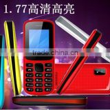 "very low price 1.77"" bar design gsm new latest China mobile phone with whatsapp facebook loudspeaker"