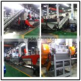 Long useful life PP Plastic fibre bales recycling pelletizing line machinery manufacturer