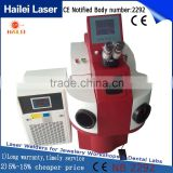 Hailei Manufacturer jewelry welding machine laser welder power 150W 250 amps welding machine