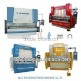 WE67K-250/4000 Hydraulic Press Brake hydraulic bending machine with carbon steel for iron box