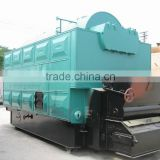 China glass A high quality chain grate coal fired steam boiler