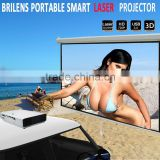 LASER Hybrid 50000 hours 800p HD mini portable projector media player/laser dlp projector for iphone/China made pocket projector                                                                         Quality Choice