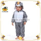 Leopard pattern baby animal costume