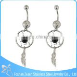 Wholesale Crystal Dream Catcher Free Sample Body Piercing Jewelry