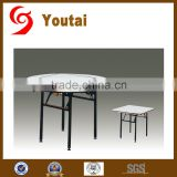plywood PVC round 6 foot folding table for hotel banquet
