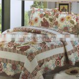 fashion south americe style 100% cotton soft bed room furniture set