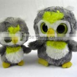 2014Hot Sale Plush Animal Big Eyes Snowy owl soft toys