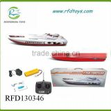 Newest rc fish torpedo boat for child remote control fishing boat
