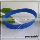 2014 Custom Logo Words Embossed Soft Rubber Mens Bracelet Models For Thailand Event Souvenir
