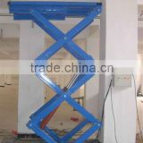 wholesale cheap price stationary scissor car/cargo lift