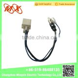 New Electric Auto Accessory Port Two Cables car radio/tv antenna adapter cable connector