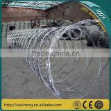 Easily Install High Quality Razor Barbed Wire/Portable Galvanized Razor Barbed Wire/Assembled Razor Barbed Wire Mesh(Factory)
