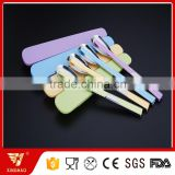 Travel Cutlery Set Stainless Steel Spoon with Edible PP Plastic Chopsticks