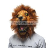 creepy Angry Lion latex rubber mask costume prop scary mask Animal Head party Mask cosplay mask