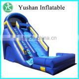China manufacturer price best quality fire truck slide inflatable