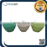 China Wholesale Eco friendly Colorful Dinnerware Personalized Bamboo Salad Bowl