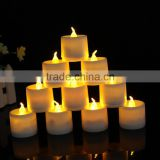 Flameless LED Tea Light Candles - Realistic Battery-Powered Flameless Candles - Beutiful and Elegant Unscented LED Candles
