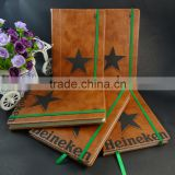 A5 high quality vintage moleskins pu leather notebook                                                                         Quality Choice