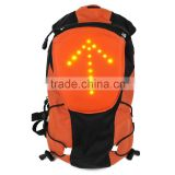 2016 waterproof Wireless Remote Control Safety Warning Indicator LED Turn Signal Light Backpack for Safe Riding Hiking Traveling