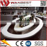 Welcome Wholesales best Choice boat shaped bar counter