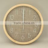 New Arrival New Design Wood Wall Clock with Glass Lens 25415