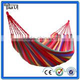 Newest Portable Canva Hammock Swing Hang Sleeping Bed Outdoor Camp Travel Beach/Parachute Hammock