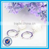 Cheap wholesale latest design of pearl earrings thailand silver jewellery
