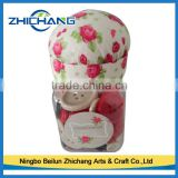 2016 hot-selling plastic button jar with pin cushion for kids DIY