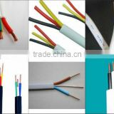300/500V PVC insulated and sheathed 3 core flat cable